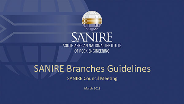SANIRE Branches Guidelines